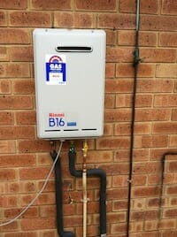 Instant Gas Hot Water System Installation
