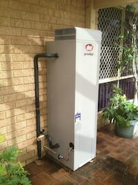 Dux Gas Hot Water System Installation