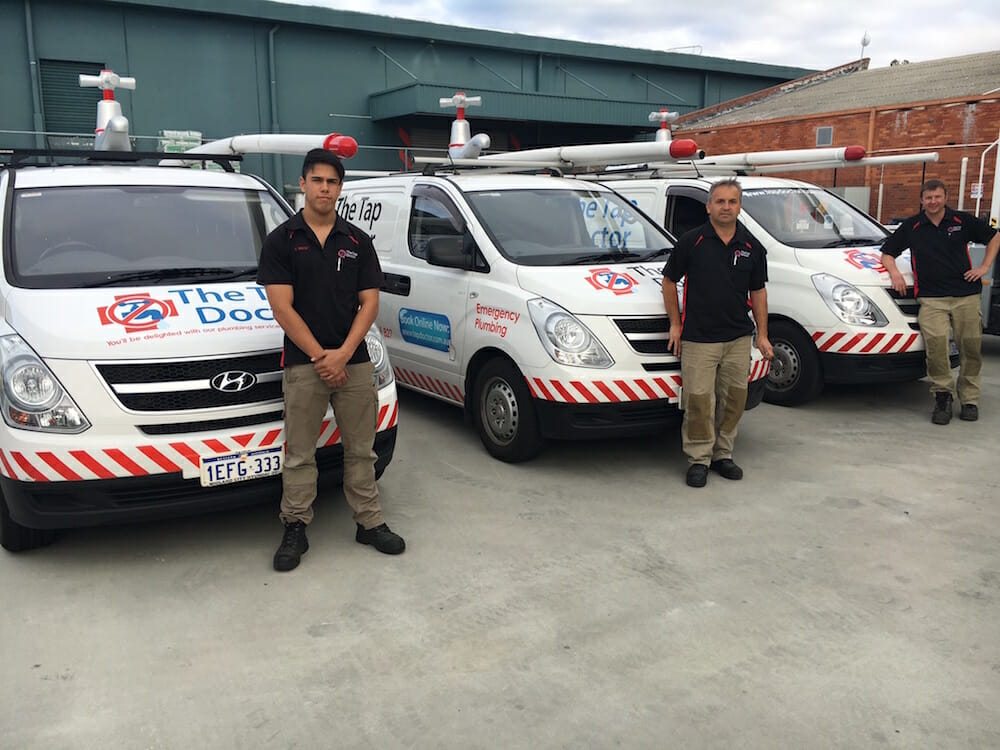 Jono Cox is your local Tap Doctor Plumber in the Como/South Perth area. Phone 24/7 on 1300-655-827 to book a callout from Jono and his team