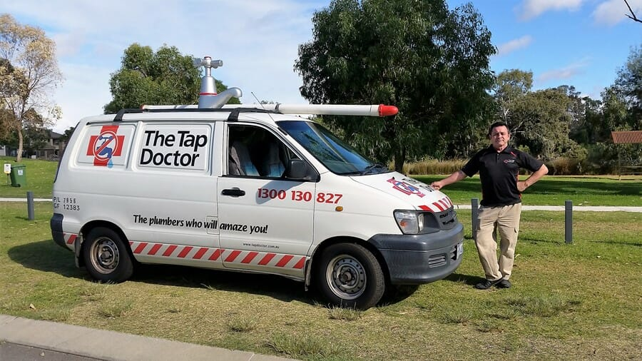 Sean Byrne is your local Tap Doctor plumber in the Kingsley Wangara area